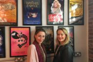 Becca Marriot and Lizzie Holmes at The Theatre Cafe