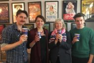 the cast of Agatha Christie's The Mousetrap