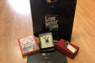 love never dies goody bag