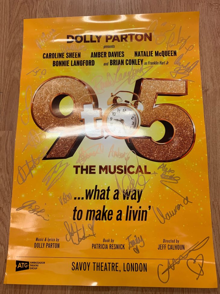 Enter our competition for a chance to win a signed 9 to 5