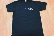 six the muiscal t-shirt