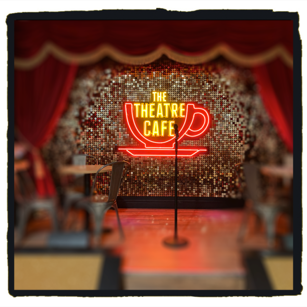 open mic at the theatre cafe