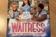 waitress poster blake harrison and lucie jones
