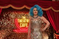 jade justine at the theatre cafe