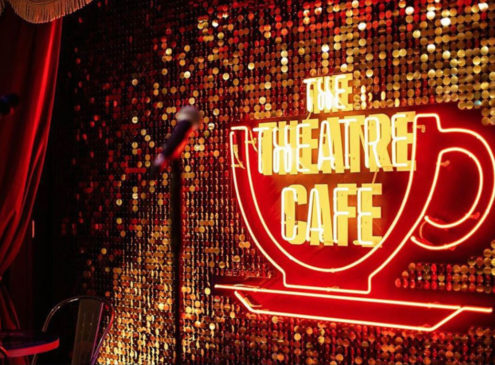 the theatre cafe stage