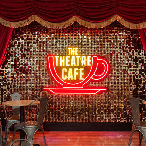 The Theatre Café stage