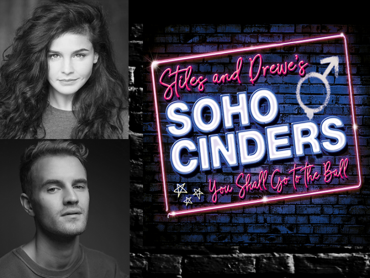 Millie O'Connell and Luke Bayer Soho Cinders