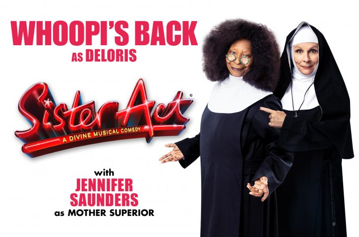 Whoopi Goldberg & Jennifer Saunders to star in Sister Act in London in Summer 2020