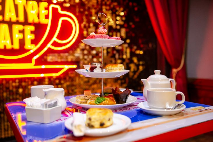 the theatre cafe afternoon tea