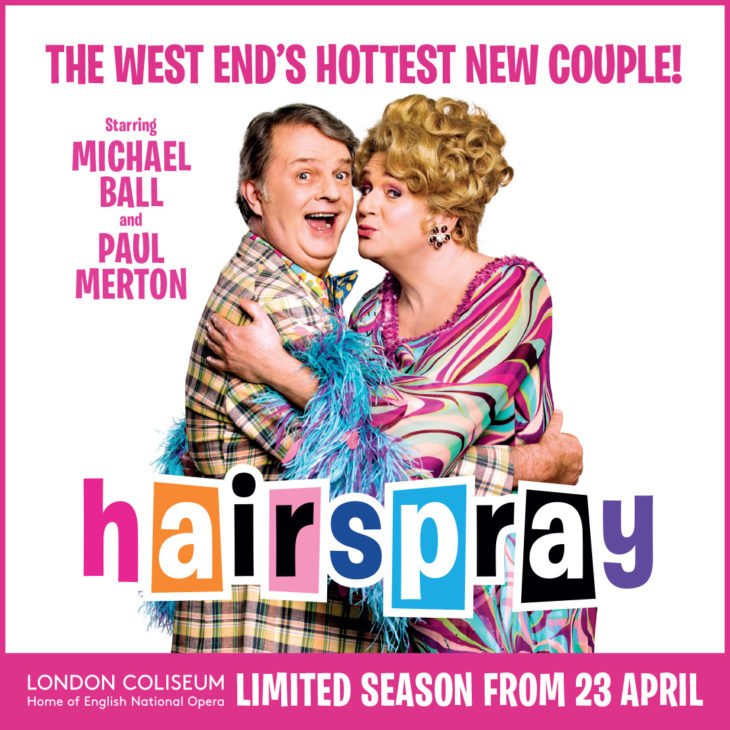 Hairspray paul merton and michael ball