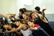 The Prince of Egypt in rehearsal