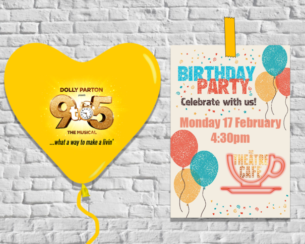9 to 5 birthday at the theatre cafe