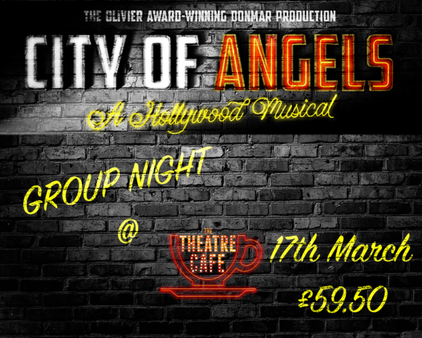 city of angels group night at the theatre cafe