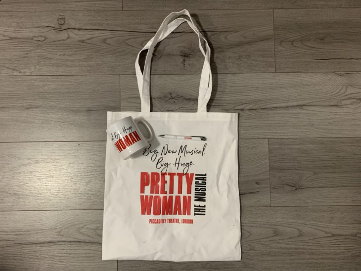 pretty woman tote bag
