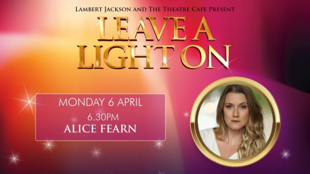 leave a light on alice fearn the theatre cafe