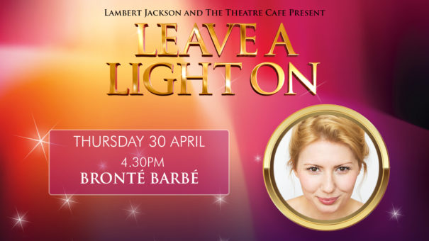 leave a light on bronte barbie the theatre cafe
