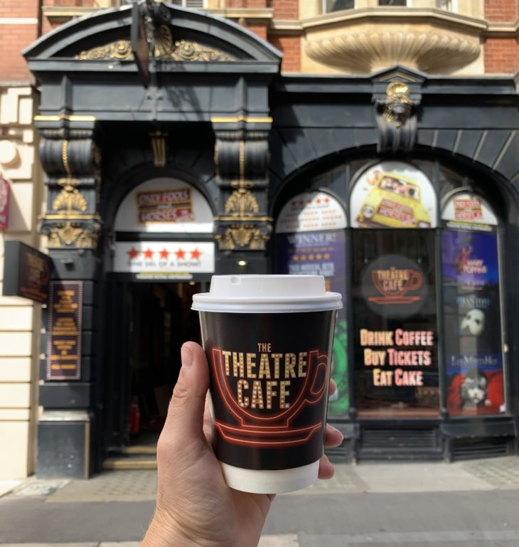 the theatre cafe to reopen